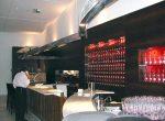 A continuação do Balcão que passa pelo Sushi Bar