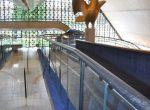 Corrimão da rampa do Auditório Simon Bolivar - Memorial da América Latina