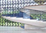 Corrimão de escada do Foyer do Auditório Simon Bolivar - Memorial da América Latina